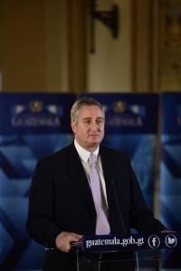 Enrique Degenhart, ministro de Gobernación