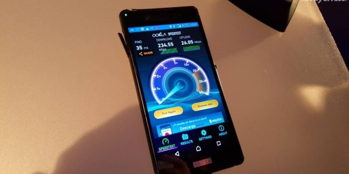 Entel realizó la primera prueba LTE Advanced Carrier Aggregation en Chile y LATAM