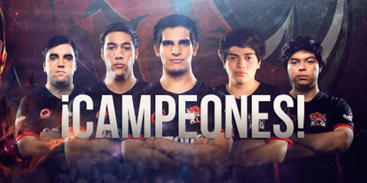 Equipo KLG representará a Latinoamérica en el Desafío Internacional de League of Legends