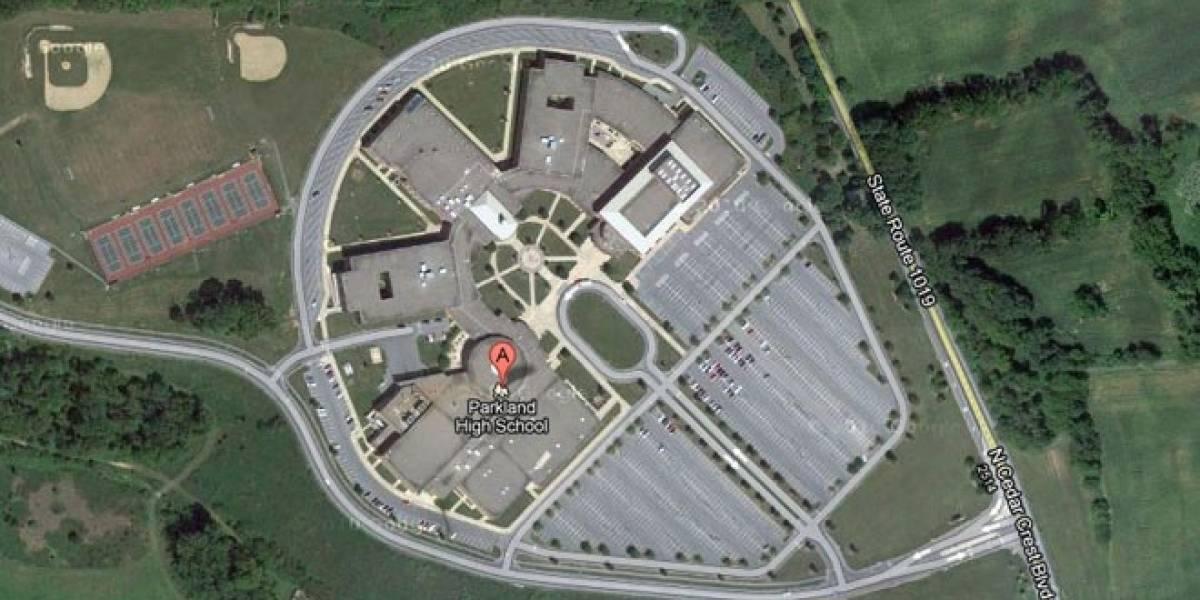 Una escuela en Pensilvania tiene la forma del Halcón Milenario