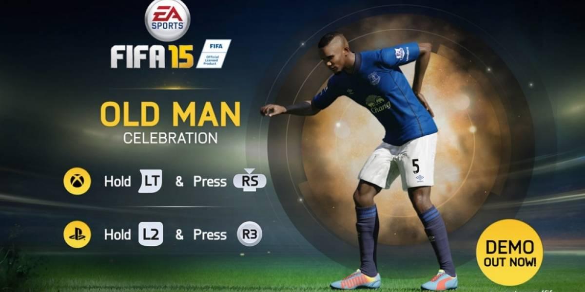 Así se celebran los goles en FIFA 15