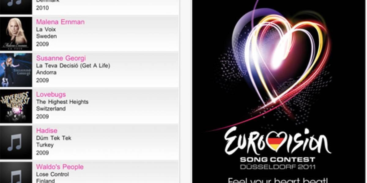 Eurovisión 2011 lanza su aplicación iOS
