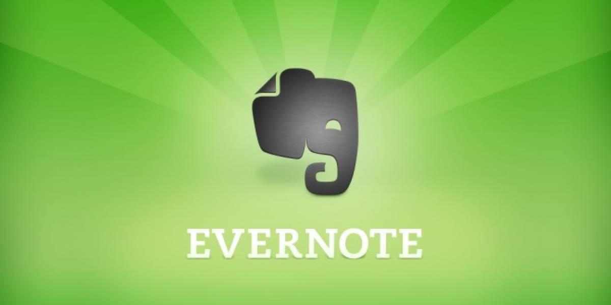Evernote introduce función de escáner en Android