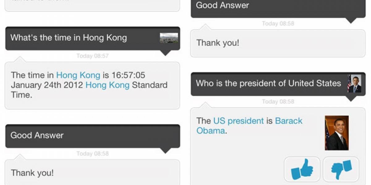 Evi, otro clon de Siri para iOS y Android