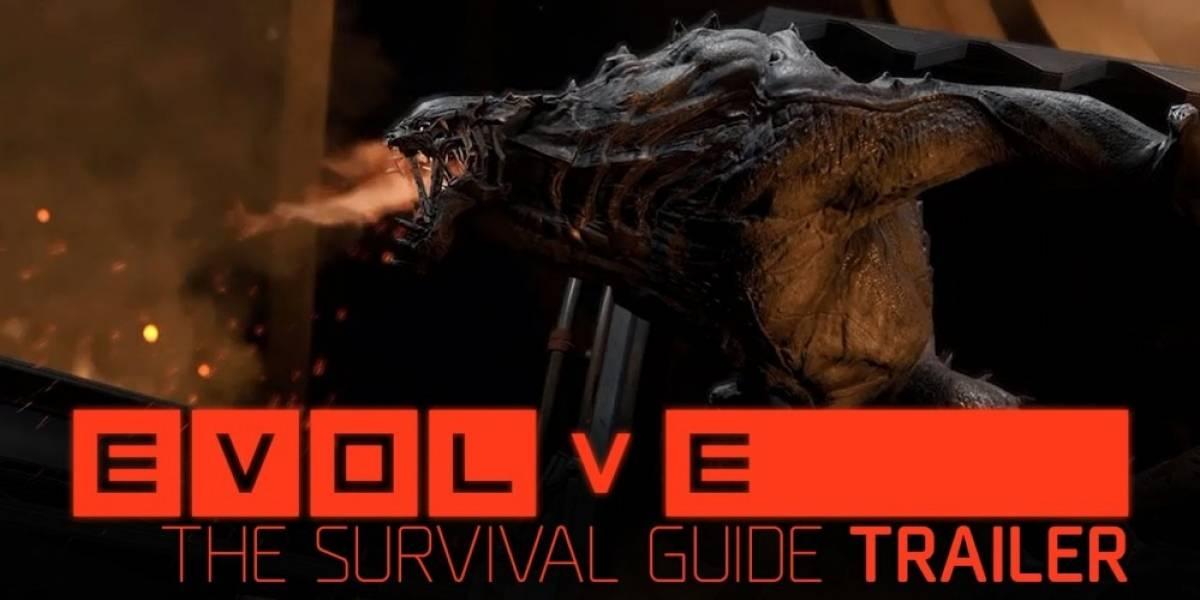Todo lo que hay que saber de Evolve, en un solo tráiler