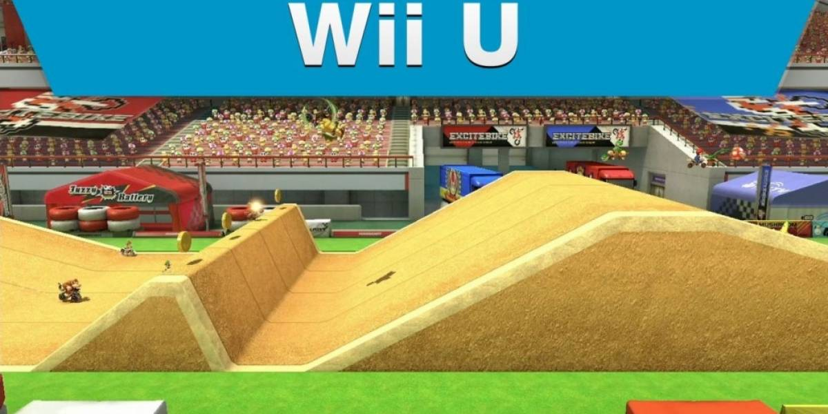 Conozcan el circuito Excitebike Arena de Mario Kart 8
