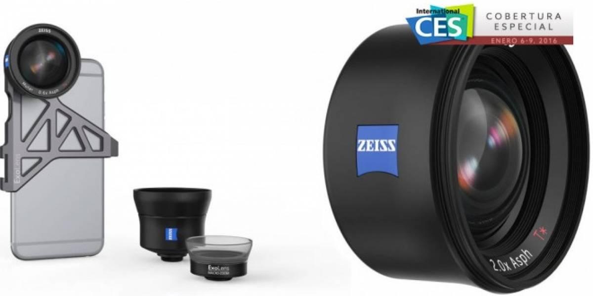 ExoLens revela tres lentes Zeiss para el iPhone6 #CES2016