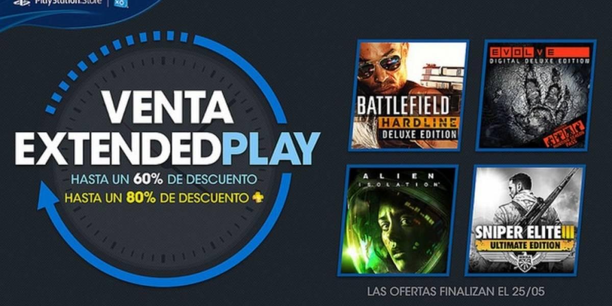 Arranca la venta especial Extended Play en PlayStation Store