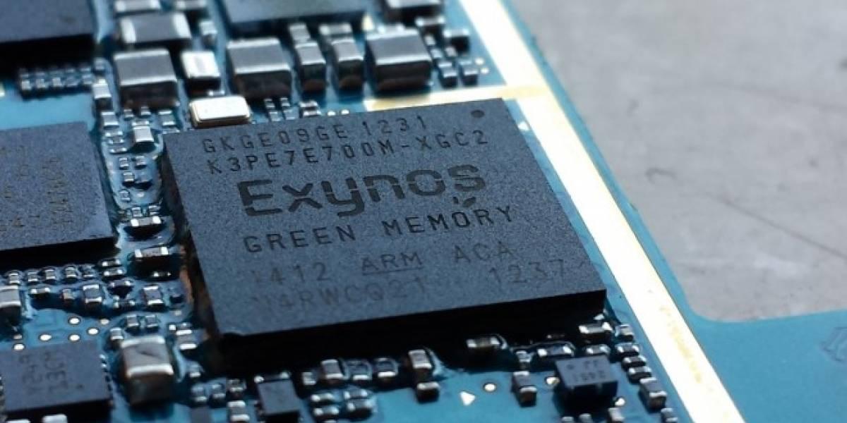 Samsung lanzaría un procesador Exynos para sus equipos de gama media