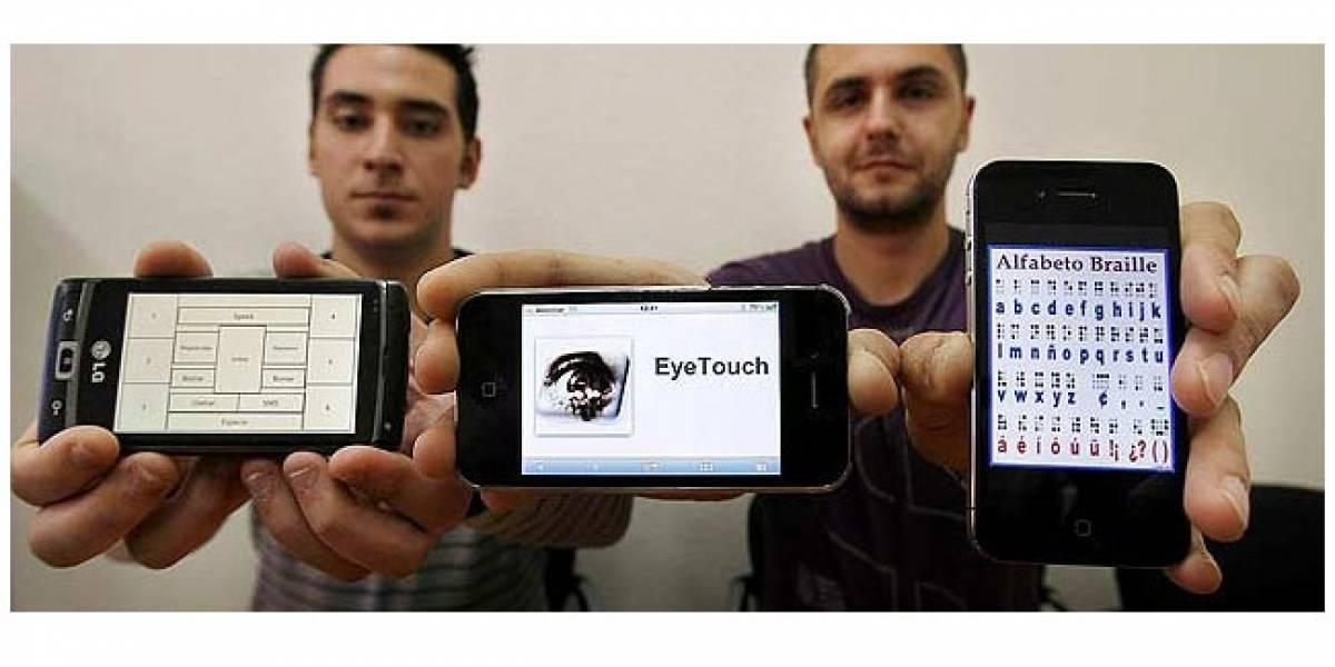 'Eyes Touch': Un teclado braille en la pantalla táctil del móvil