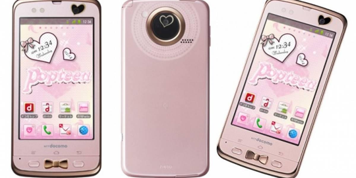 Fujitsu lanzará móviles diseñados sólo para chicas