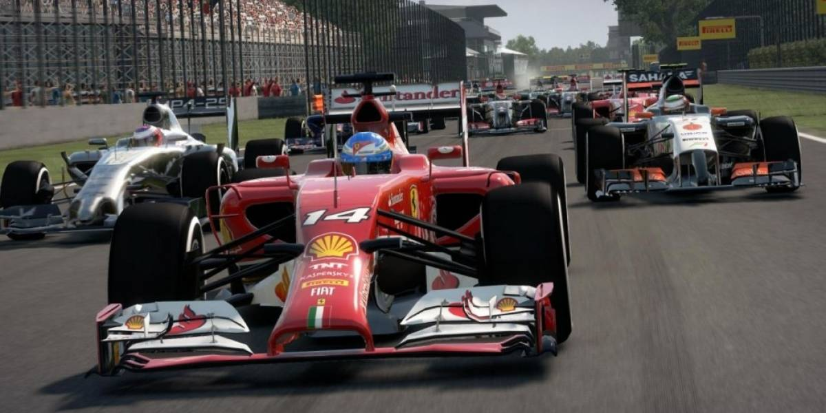 F1 2014 enciende su motor con tráiler de lanzamiento
