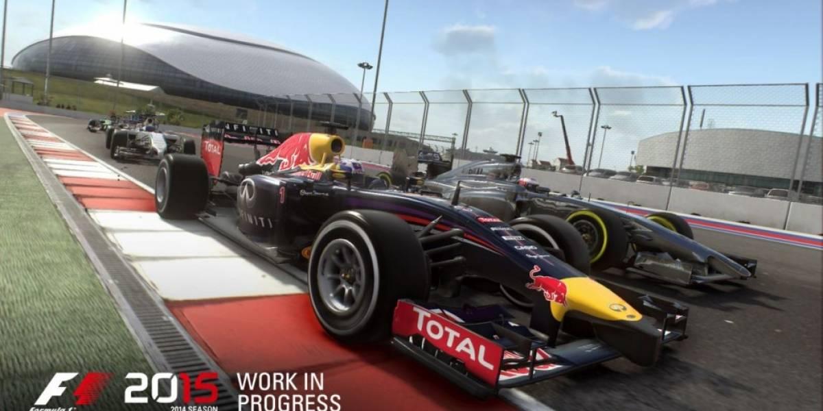 Primer vistazo al Autódromo Hermanos Rodríguez en F1 2015 #E32015