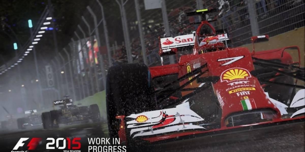 F1 2015 correrá en 1080p en PlayStation 4 y en 900p en Xbox One