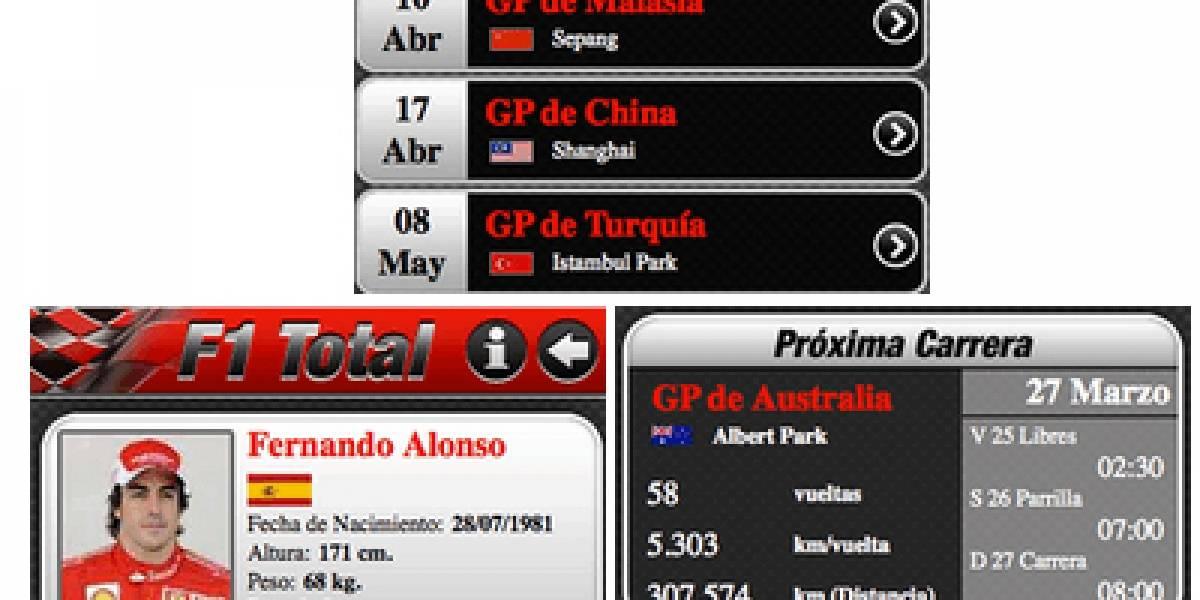 Sigue el Gran Premio de España de Fórmula 1 en tu Nokia