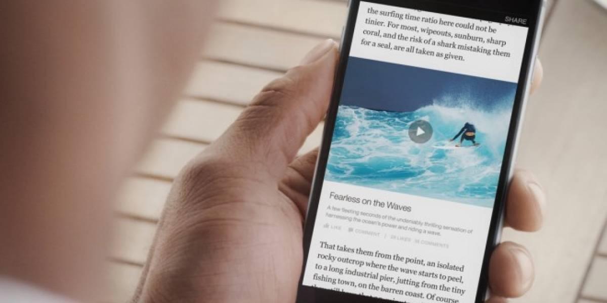 Facebook lanza Artículos Instantáneos en América Latina