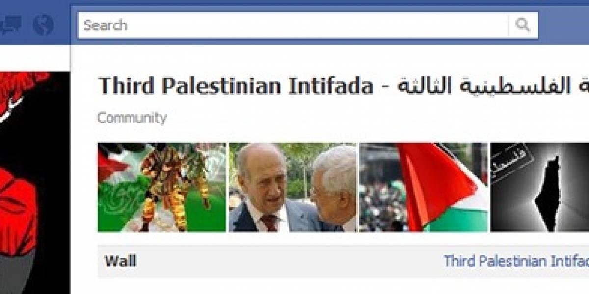 Facebook cierra página que convocaba a la tercera Intifada