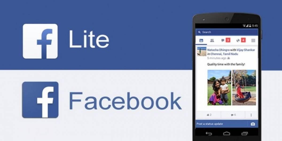 Facebook Lite llegó a los 100 millones de usuarios