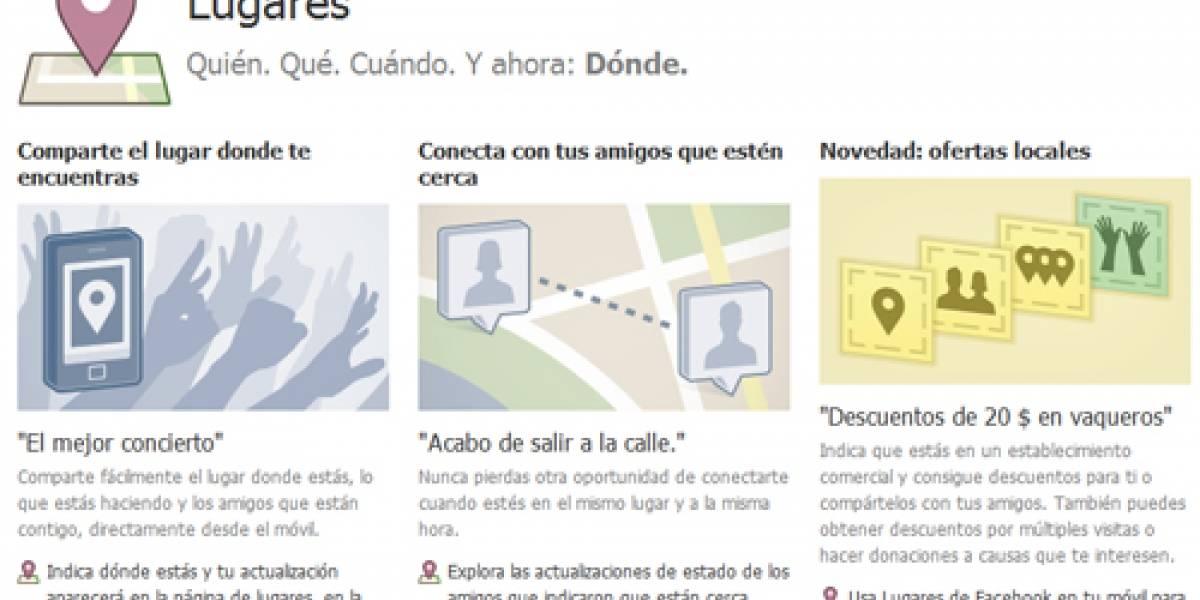 "España: ""Facebook Lugares"" ya está activo"