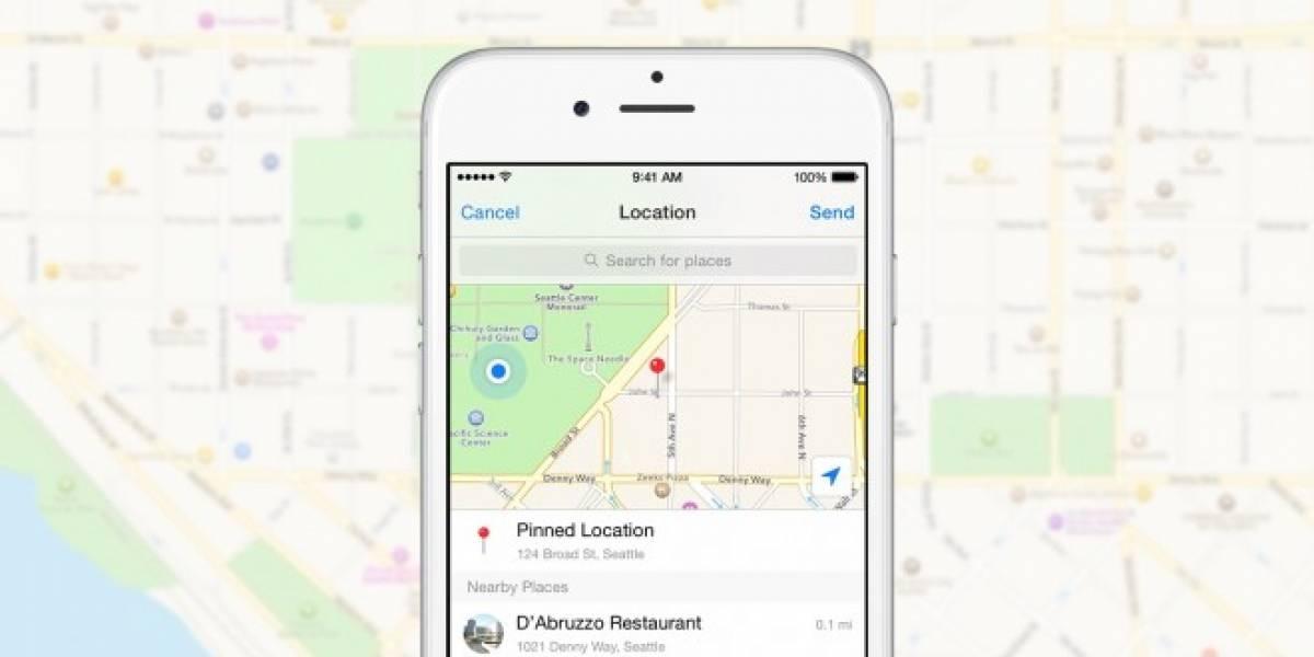 Facebook Messenger ya permite compartir tu ubicación