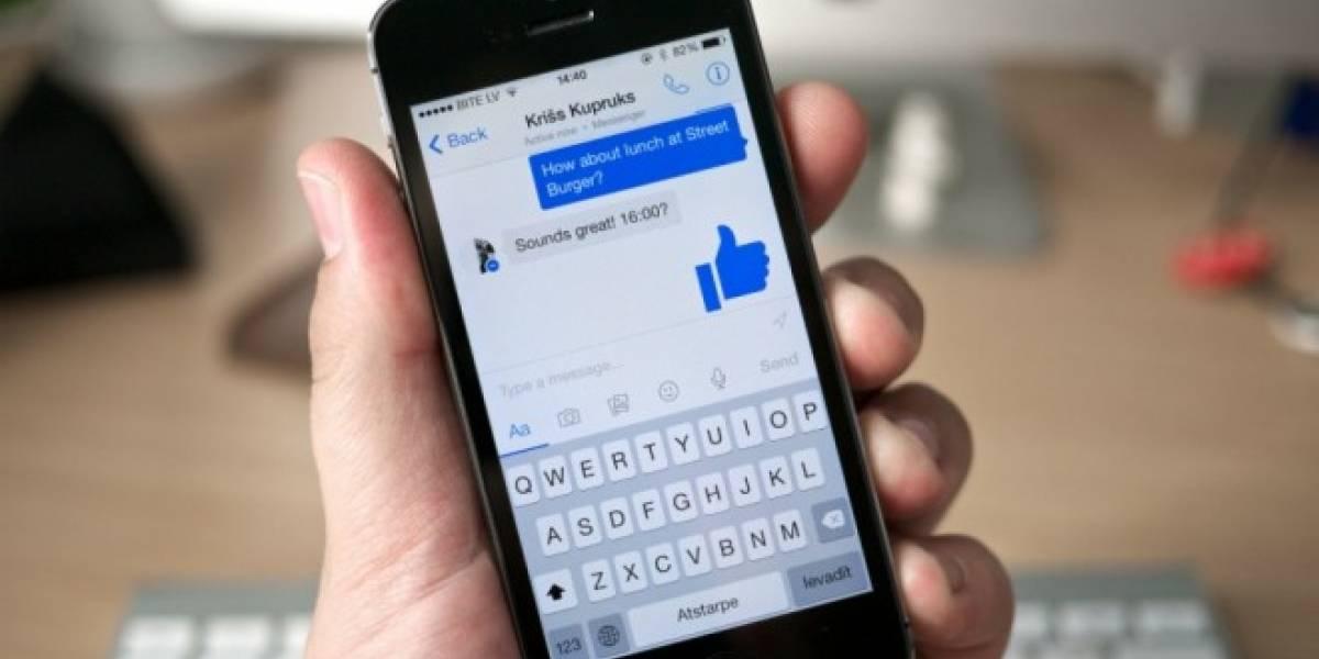 Facebook Messenger implementaría soporte para múltiples cuentas