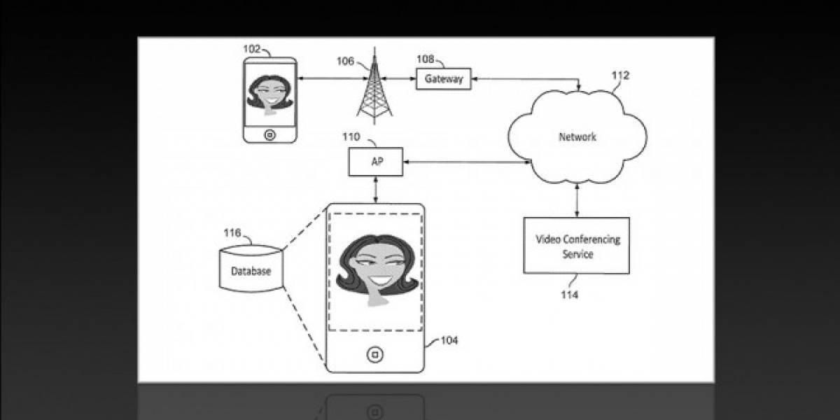 Patente de Apple solucionaría los problemas de Facetime cuando hay poco ancho de banda