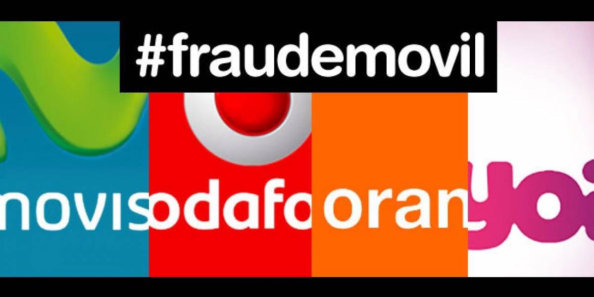 España: Denuncia a Movistar, Vodafone, Orange y Yoigo por 'bloquear' los móviles que subvencionan