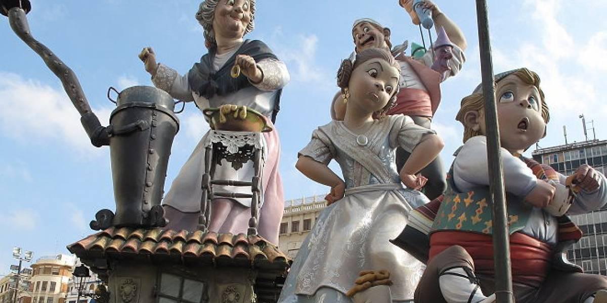 España: La Falla de Na Jordana en tu móvil