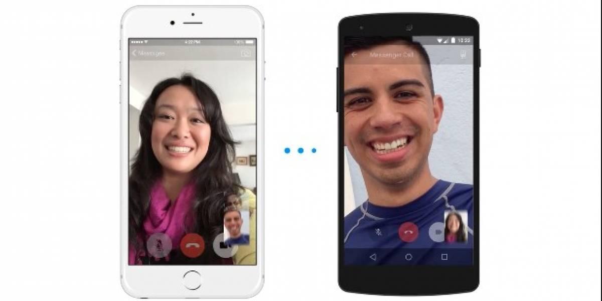 Las videollamadas HD de Facebook Messenger, llegaron a Chile