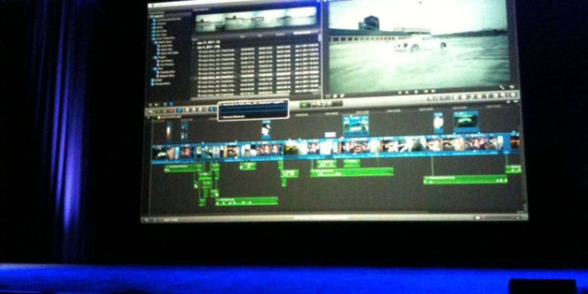 Apple anuncia Final Cut Pro X con soporte para 64 bits