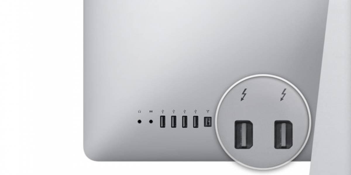 Thunderbolt llega con los nuevos iMac