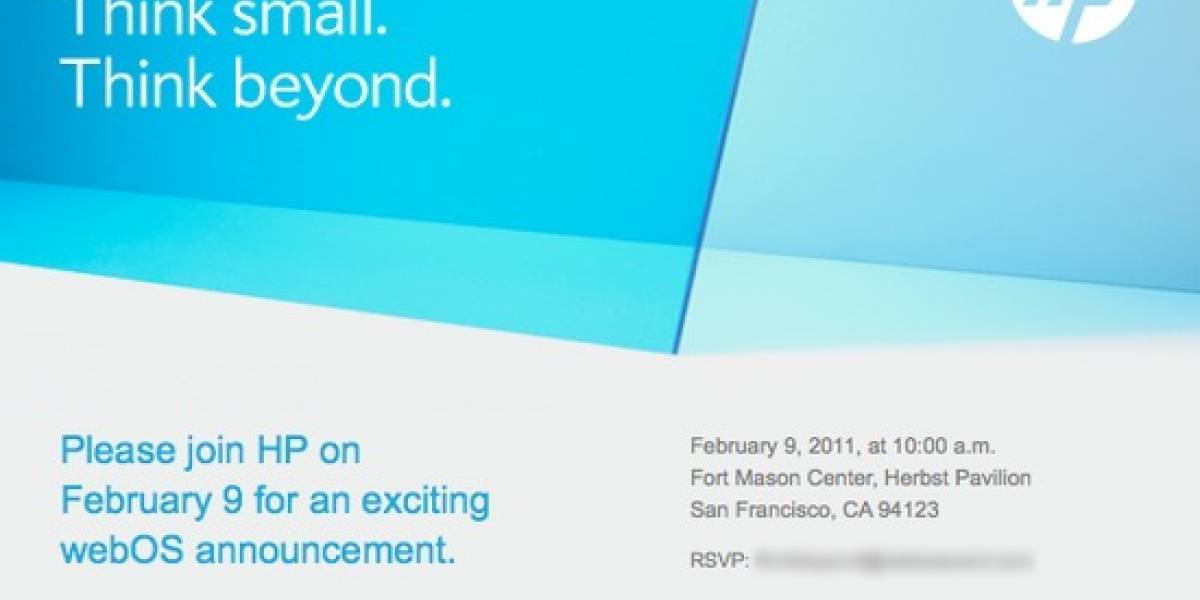 HP presentará sus nuevos tablets webOS en febrero
