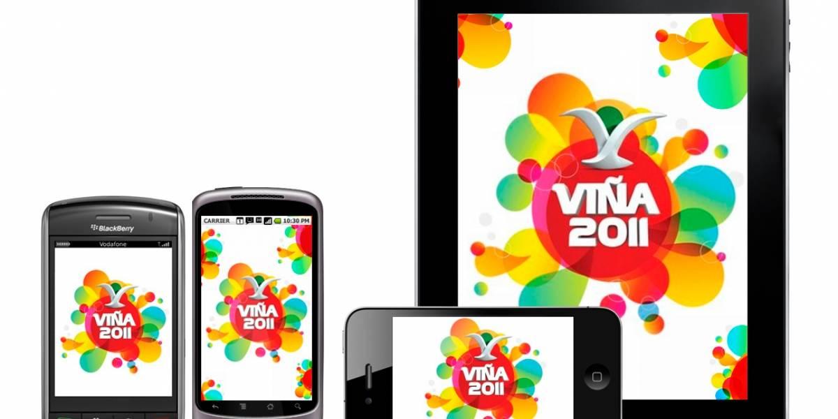 W Pregunta: ¿Qué te pareció la transmisión móvil de #viña2011?