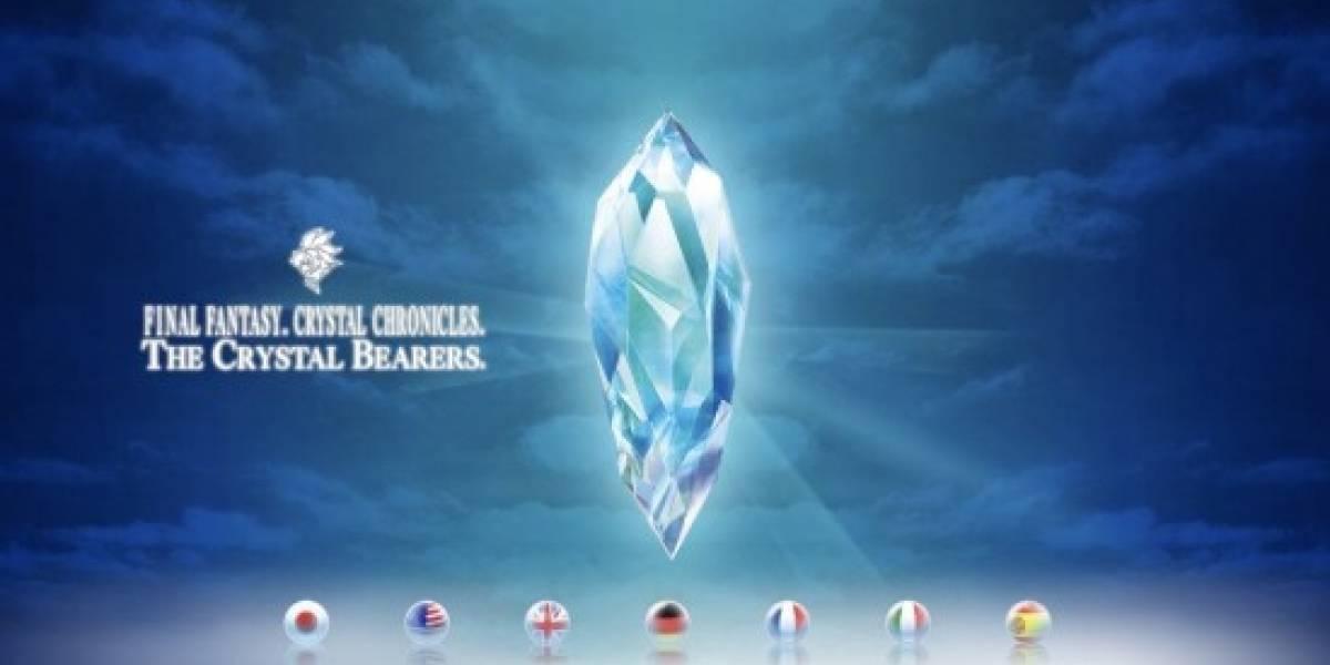 Abre el sitio oficial de Final Fantasy Crystal Chronicles: The Crystal Bearers