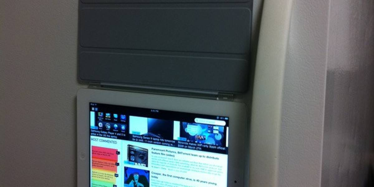 Smart Cover para iPad 2 pega tu tablet al refrigerador