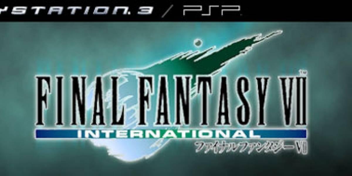 Final Fantasy VII aterriza en la PSN...de Japón