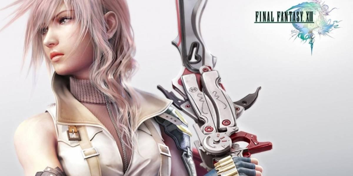 Se confirma el lanzamiento de la trilogía Final Fantasy XIII en PC