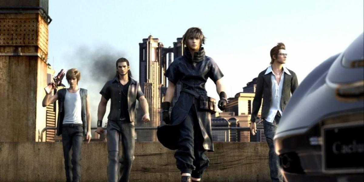 Vean un par de videos con jugabilidad de Final Fantasy XV en Full HD