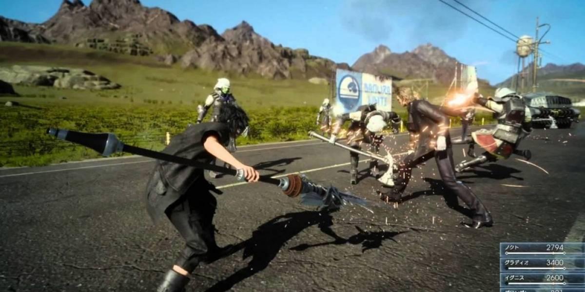 Final Fantasy XV recibe nuevo tráiler e información