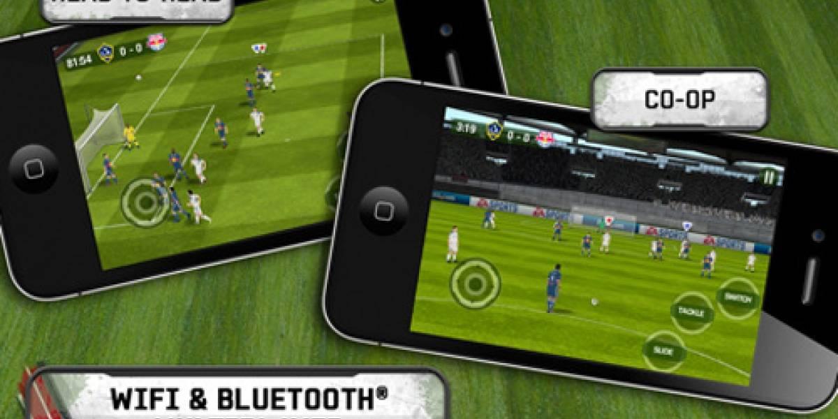 FIFA11 de iOS recibe actualización y ya tiene multijugador