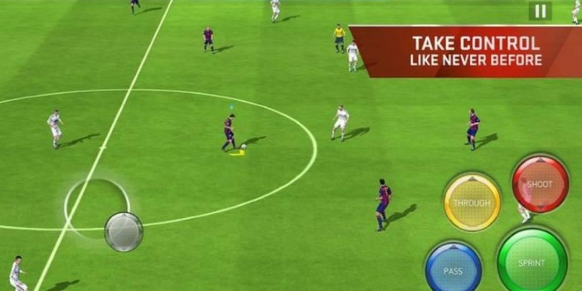 El nuevo FIFA para móviles ya está disponible (o algo así)