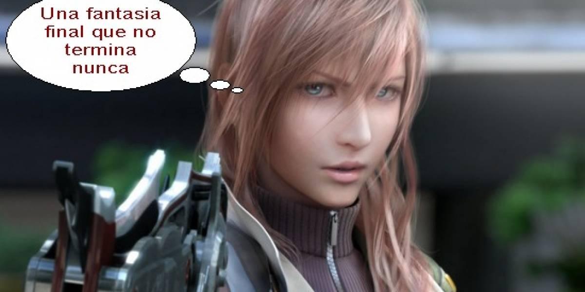 Final Fantasy XIII necesita diez veces el éxito de otros títulos