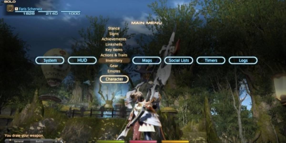Final Fantasy XIV tendrá prueba gratuita en PS3 y PS4