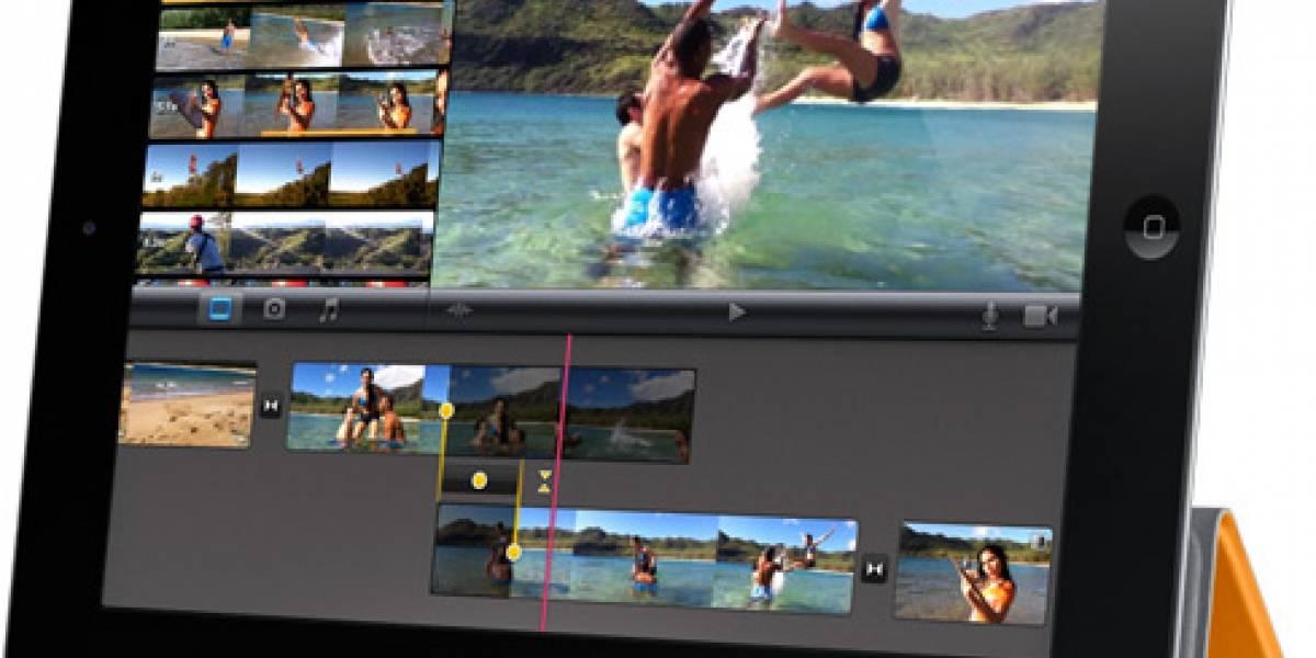 ¿Sirve para profesionales el iMovie para iPad 2?