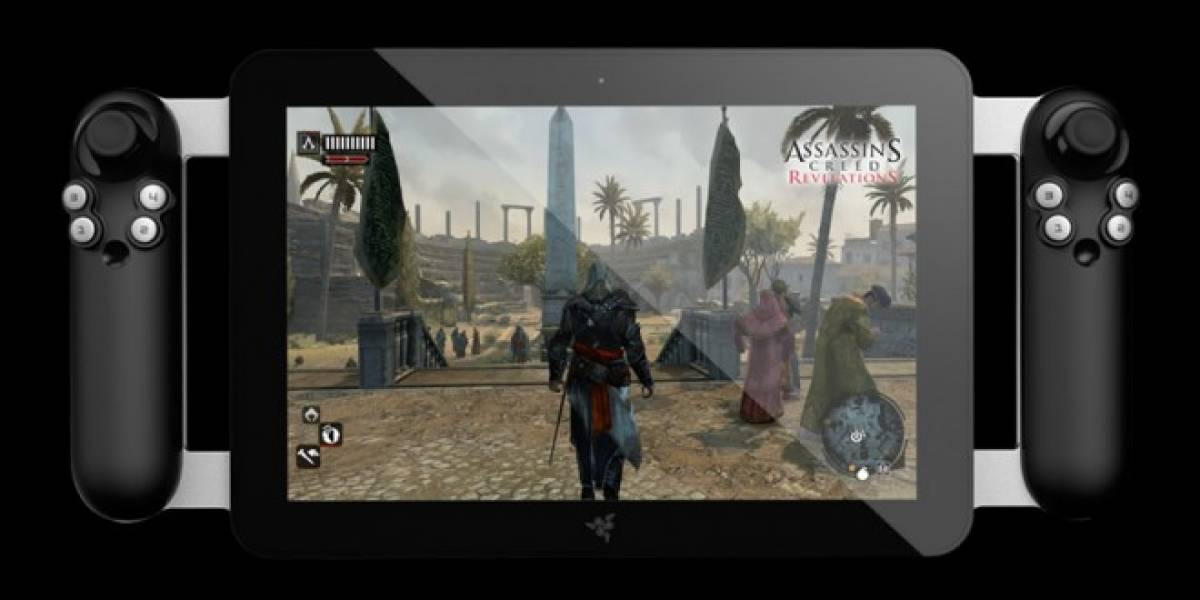 CES 2012: Razer muestra su próxima tablet especilizada para videojugar