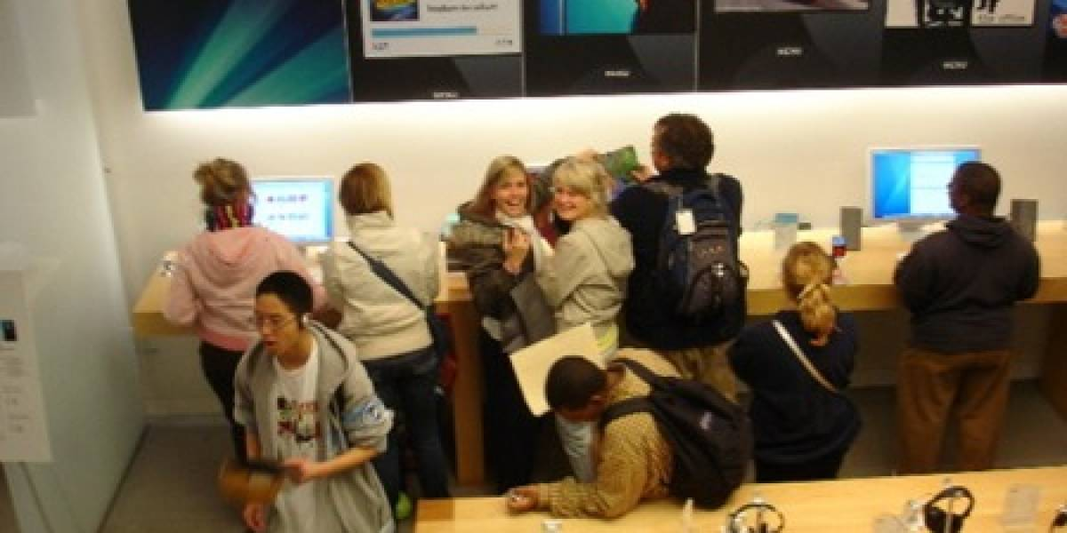 Impresentable: Goatse ataca en el Apple Store