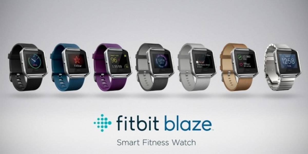 FitBit presenta su nuevo smartwatch Blaze