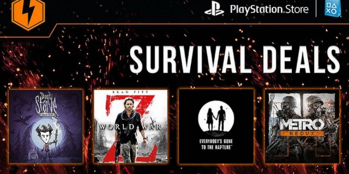 Venta Relámpago en PSN ofrece descuentos de hasta el 85% en más de 50 juegos