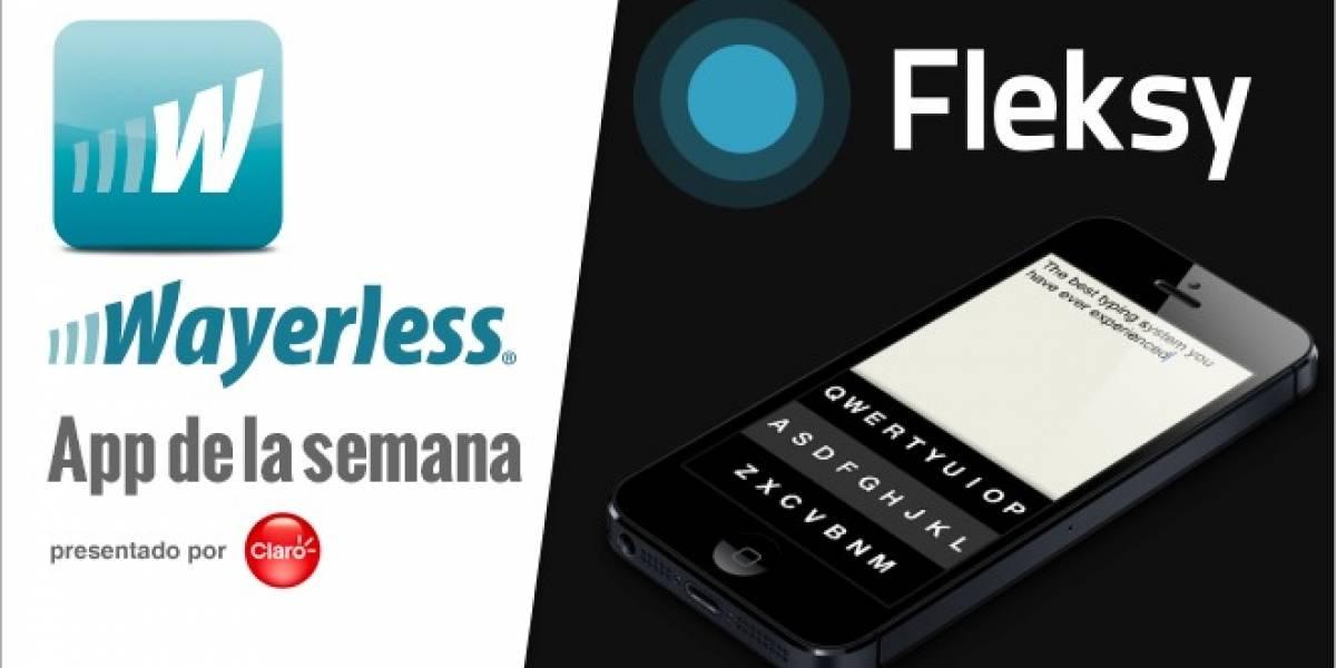 Fleksy: ¡Escribe en el teclado sin necesidad de estar mirando la pantalla! [W Apps]