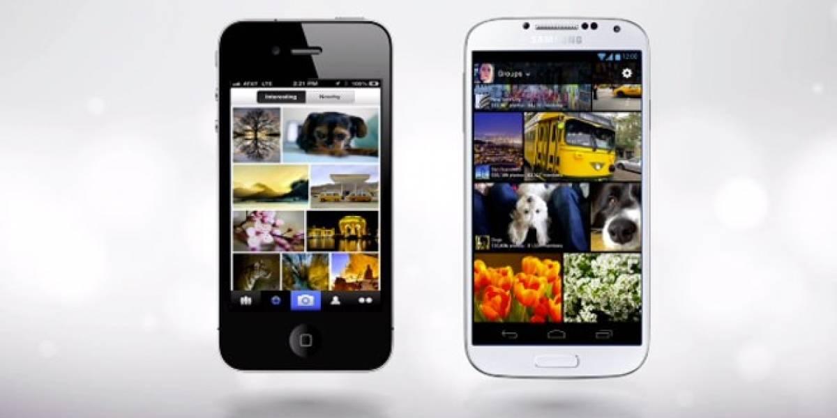 Yahoo! actualiza app de Flickr para Android